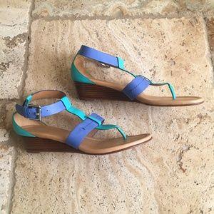 Coach Shoes - Coach Colorful Summer Sandals (A8580 Size 8B)